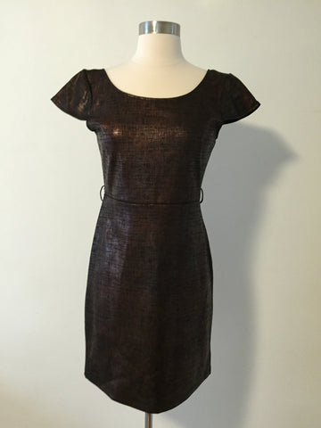Shimmer Cap Sleeve Dress