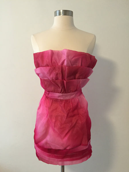 Pink Pursuit Tulle Mini Dress