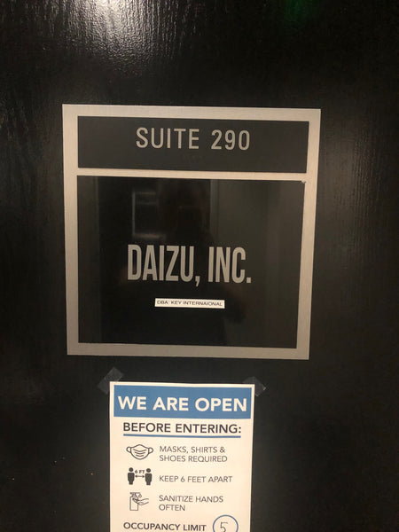Daizu we are open now!