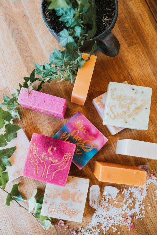 You Are Magical Almond Coconut Soap Bar - The Self-Care Seed Co.