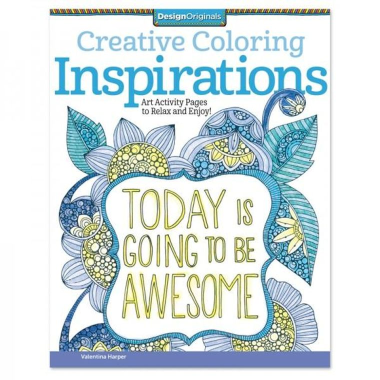 Creative Inspirations Coloring Book - The Self-Care Seed Co.