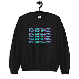Open image in slideshow, End the Stigma Sweatshirt - The Self-Care Seed Co.