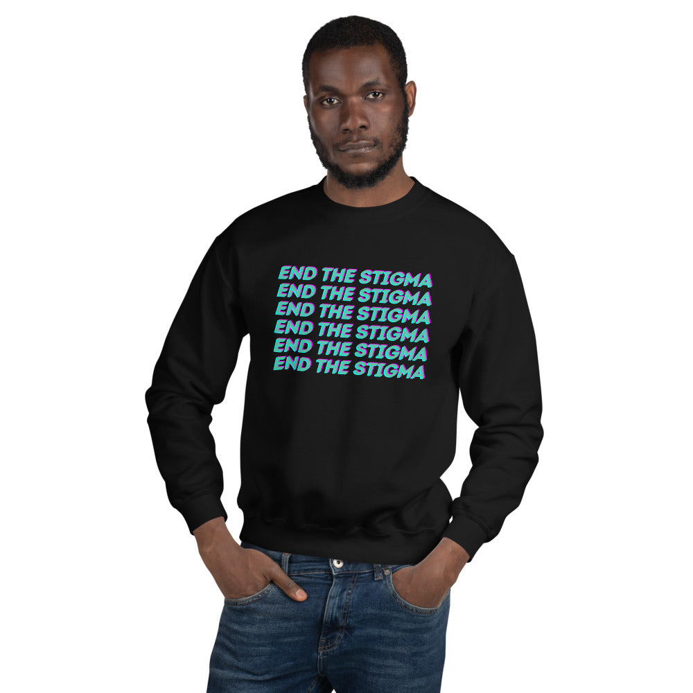 End the Stigma Sweatshirt - The Self-Care Seed Co.