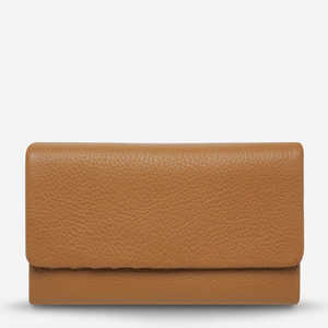 STATUS ANXIETY AUDREY WALLET - PEBBLE TAN