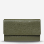 STATUS ANXIETY AUDREY WALLET - PEBBLE KHAKI