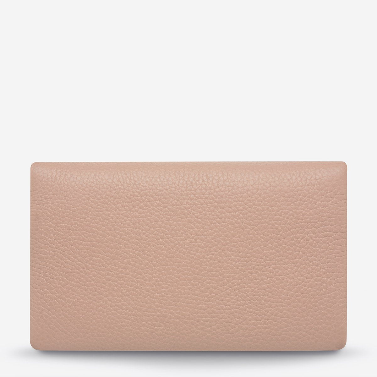 STATUS ANXIETY AUDREY WALLET - PEBBLE DUSTY PINK