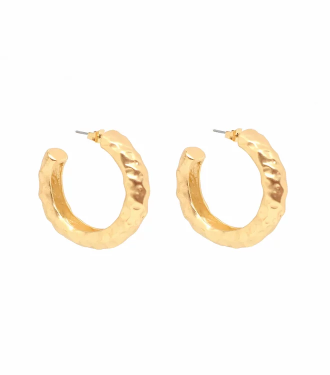 BLING BAR ANGELINA HOOPS MATTE