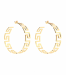 BLING BAR AURELIA HOOPS POLISHED GOLD