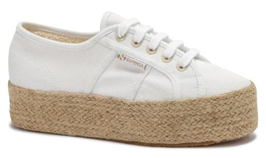 SUPERGA 2790 COTDRILLROPEW - WHITE