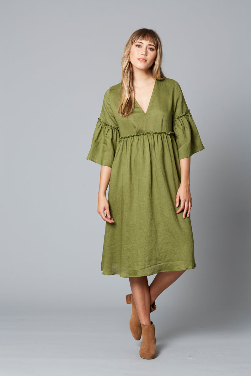 ISLE OF MINE EVE DRESS SAGE