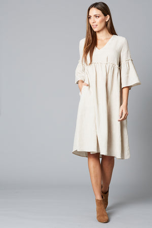 ISLE OF MINE EVE DRESS WHEAT