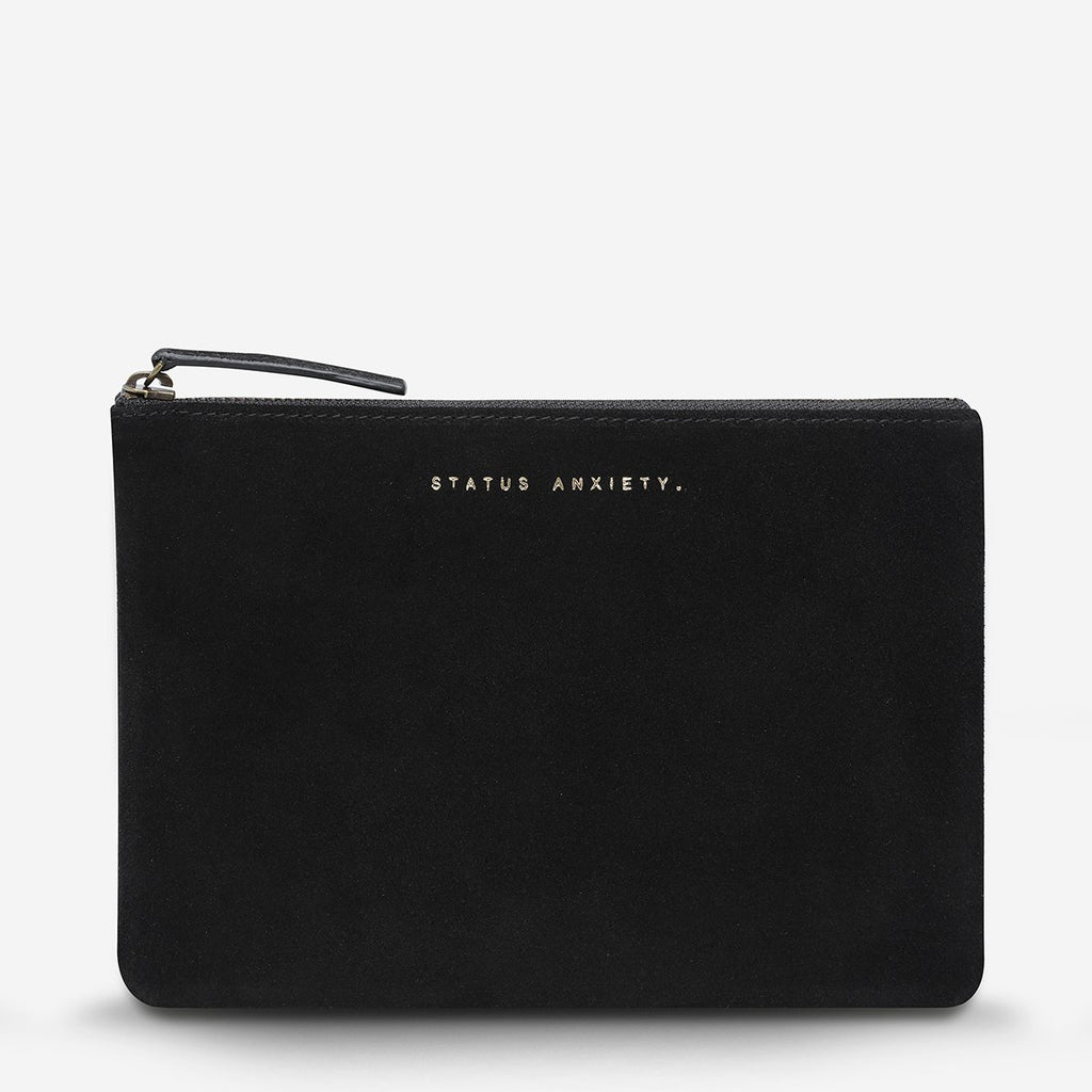 STATUS ANXIETY MOMENTARY CLUTCH - BLACK