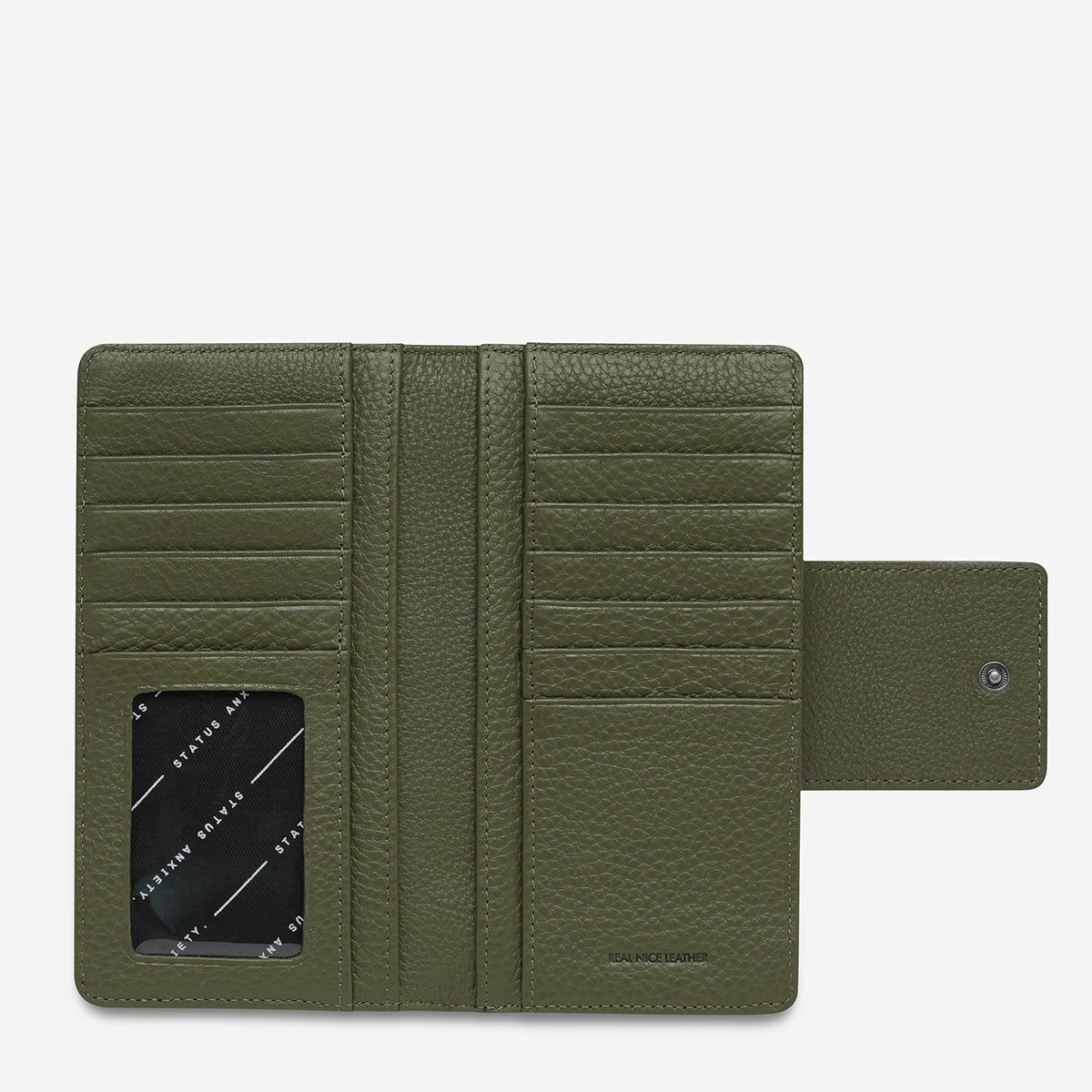 STATUS ANXIETY RUINS WALLET - KHAKI