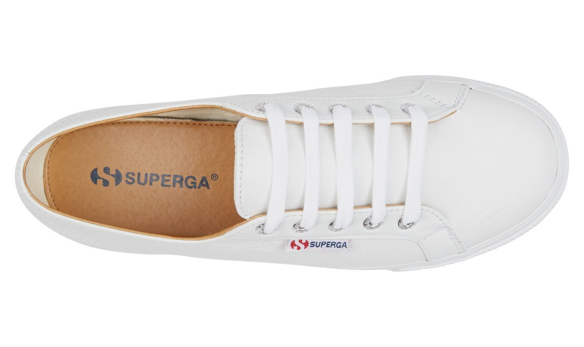 SUPERGA 2790 FGLW SHOE - PURE WHITE