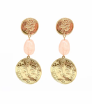 BLING BAR THE GREATS COIN EARRINGS