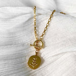 MINC COLLECTIONS JASMINE NECKLACE - GOLD