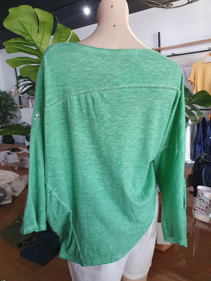 amici kiss kiss kiss top gucci green