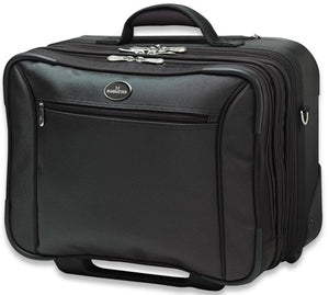 New York Notebook Computer Rolling Briefcase Image 1