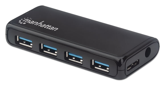 4-Port USB 3.2 Gen 1 Hub With Power Adapter Image 1
