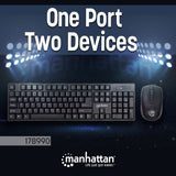 Wireless Keyboard and Optical Mouse Set Image 5
