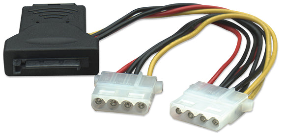 SATA Power Adapter and Splitter Image 1