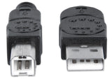 Hi-Speed USB B Device Cable Image 5