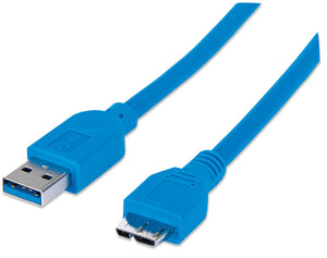 SuperSpeed USB Micro-B Device Cable Image 1