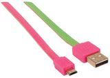 Flat Hi-Speed USB Micro-B Device Cable Image 3