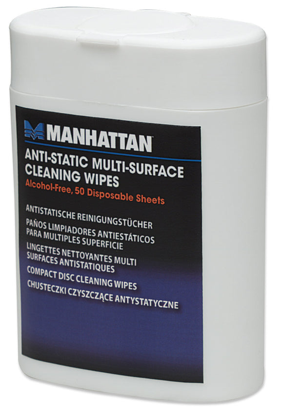 Anti-Static Multi-Surface Cleaning Wipes Image 1