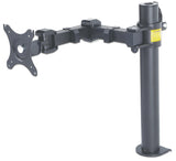LCD Monitor Mount with Double-Link Swing Arm Image 1