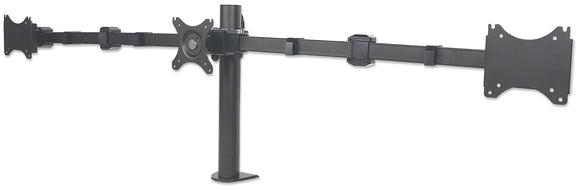 LCD Monitor Mount with Center Mount and Double-Link Swing Arms Image 1