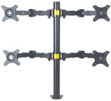 LCD Monitor Mount with Double-Link Swing Arms Image 3