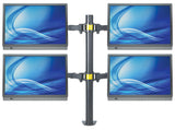 LCD Monitor Mount with Double-Link Swing Arms Image 5