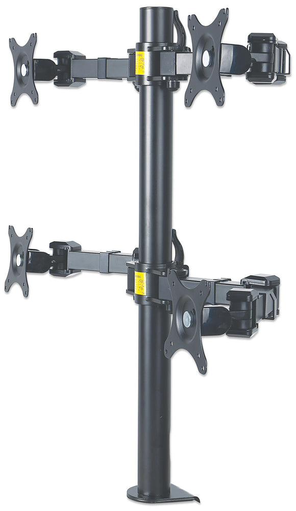 LCD Monitor Mount with Double-Link Swing Arms Image 1