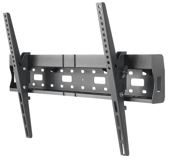 Universal Flat-Panel TV Tilting Wall Mount with Integrated Storage Area Image 1