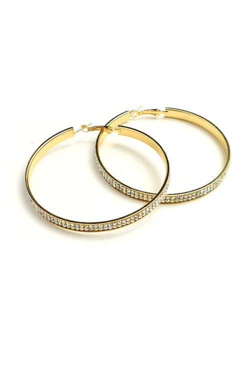 DIVA HOOP EARRINGS
