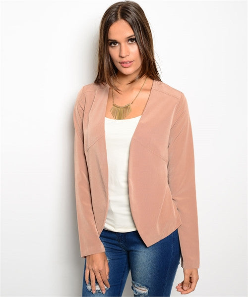 SOFT FITTED JACKET