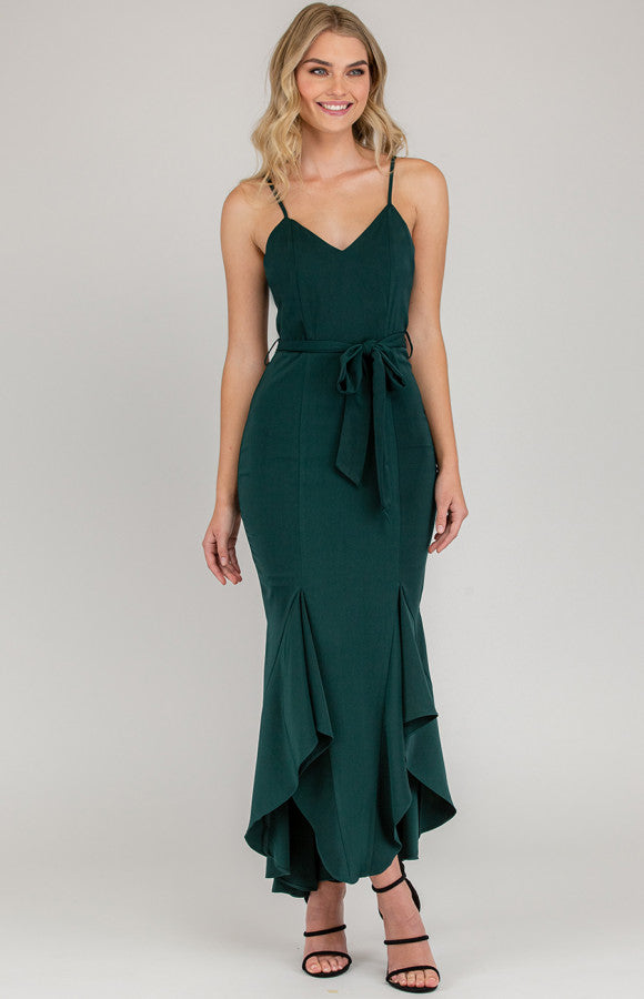 FOREST WATERFALL MAXI DRESS