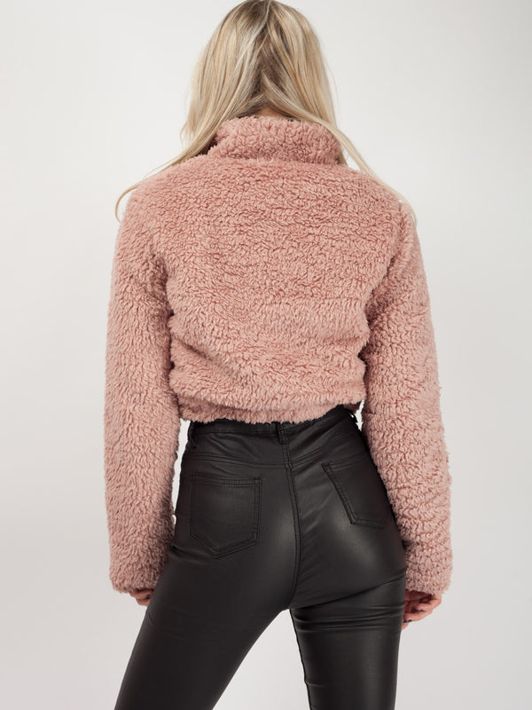 TEDDY CROP JUMPER