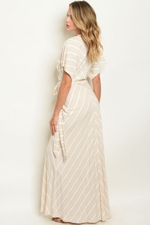 SWEET STRIPES MAXI DRESS