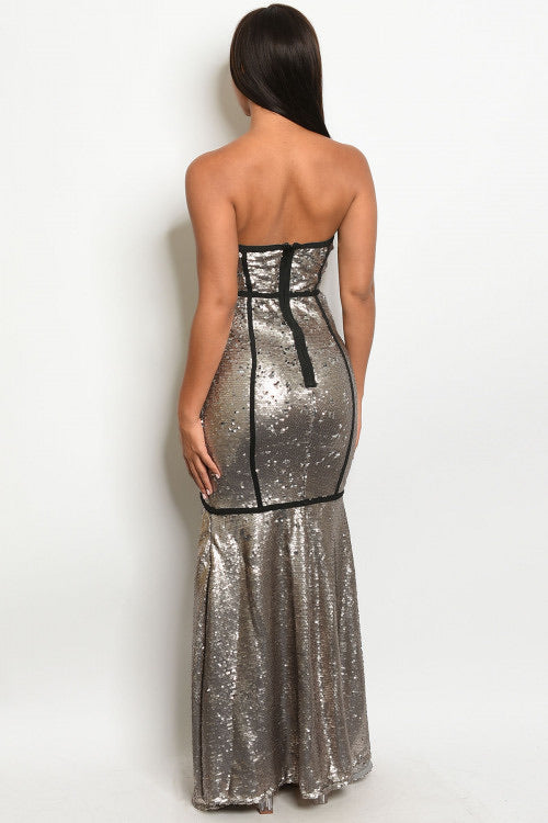 METALLIC DREAM DRESS
