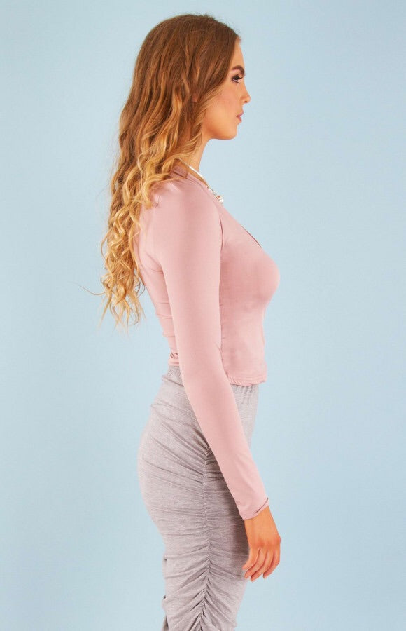 SWEET LONG SLEEVE CROP