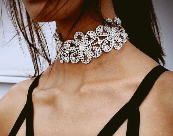 LETS DANCE DIAMONTIE CHOKER