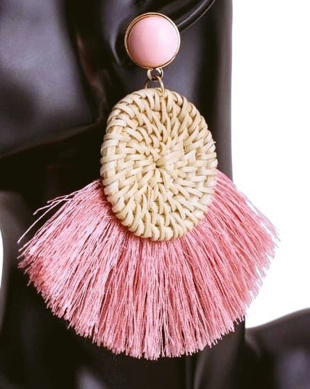 SWEET LOVE TASSEL EARRINGS