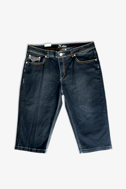 DARKWASH DENIM SHORTS