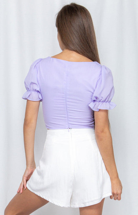 SWEET LILAC BLOUSE
