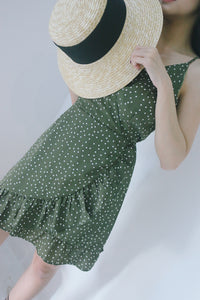 UQMADE DOTTY VINTAGE DRESS