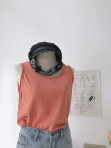 KOREAN SLEEVELESS TANK TOP (4408005853259)