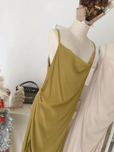 JOS COCKTAIL SATIN DRESS (4408143380555)