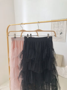 CNY HIGH-WAIST FAIRY SKIRT in NUDE PINK (4429008437323)